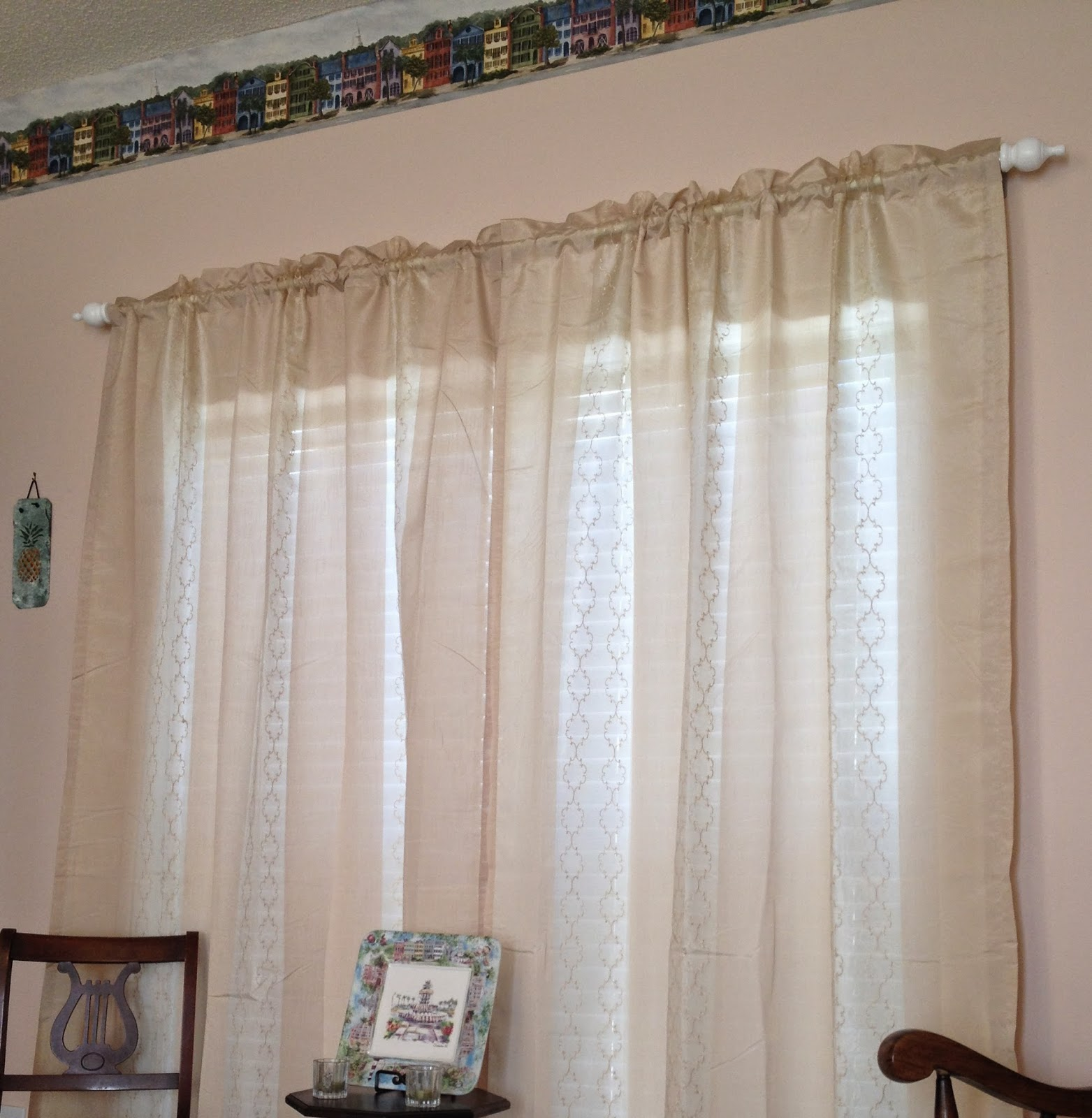 Across the Boulevard: DIY Curtain Rods for Large Windows