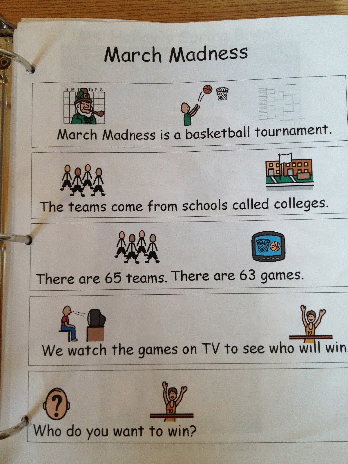 Autism Tank March Madness