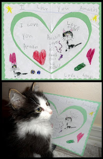 Love for Anakin the two legged cat, Anakin art by Angel