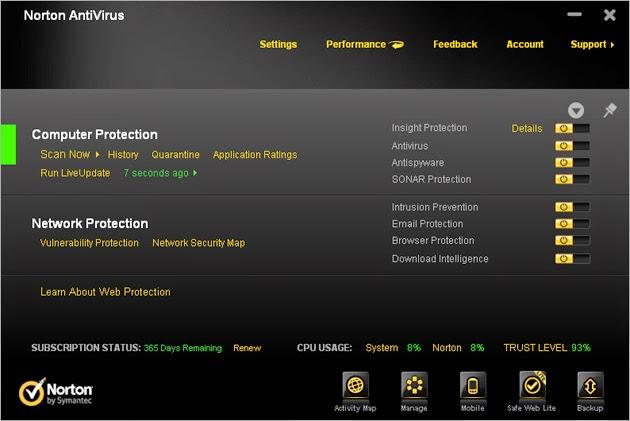 norton antivirus software free download for windows 7