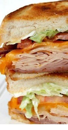 Copycat Applebee's Clubhouse Grille Sandwich Recipe