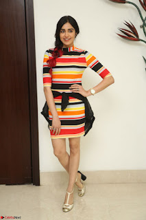Adha Sharma in a Cute Colorful Jumpsuit Styled By Manasi Aggarwal Promoting movie Commando 2 (180).JPG