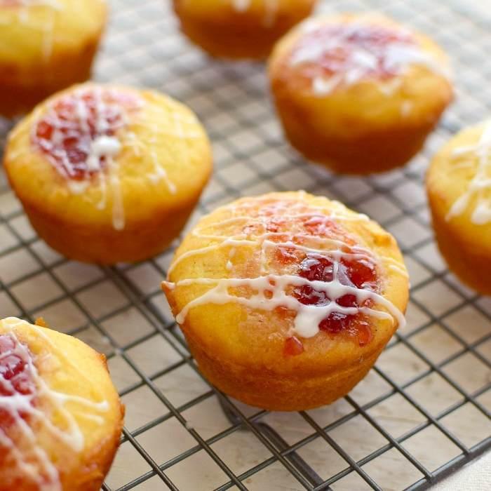 Muffins con harina de arroz receta