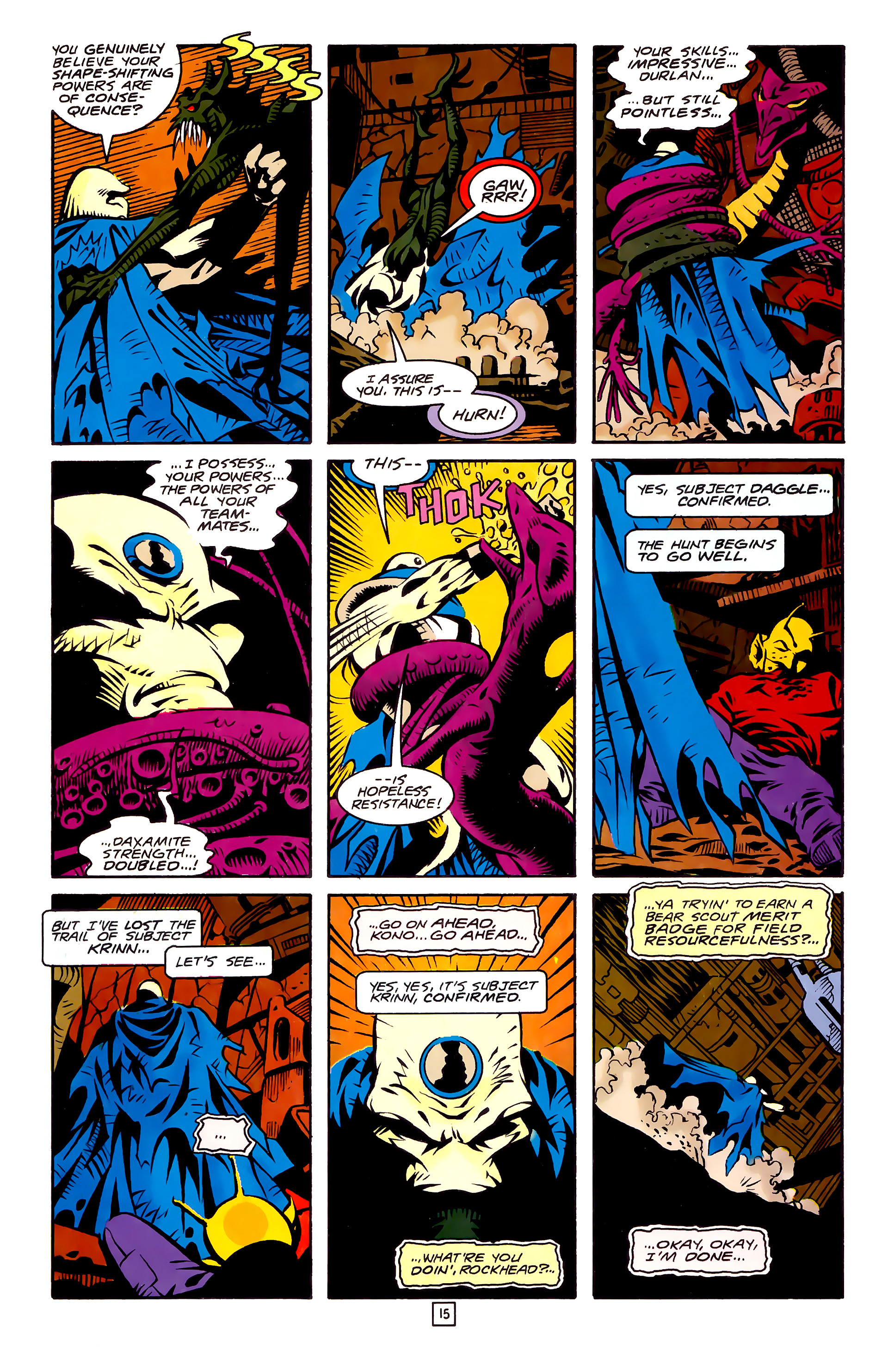 Legion of Super-Heroes (1989) 27 Page 15