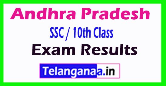 AP Andhra Pradesh SSC / 10th Class Results 2018