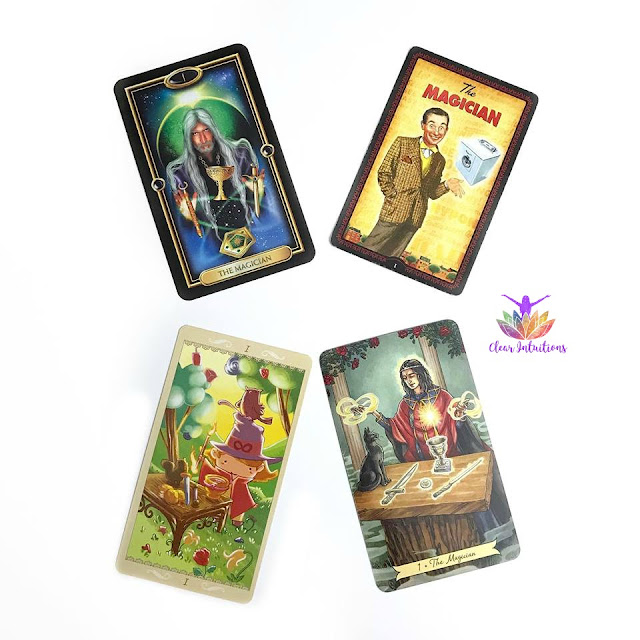 Comparing Tarot Cards - The Magician
