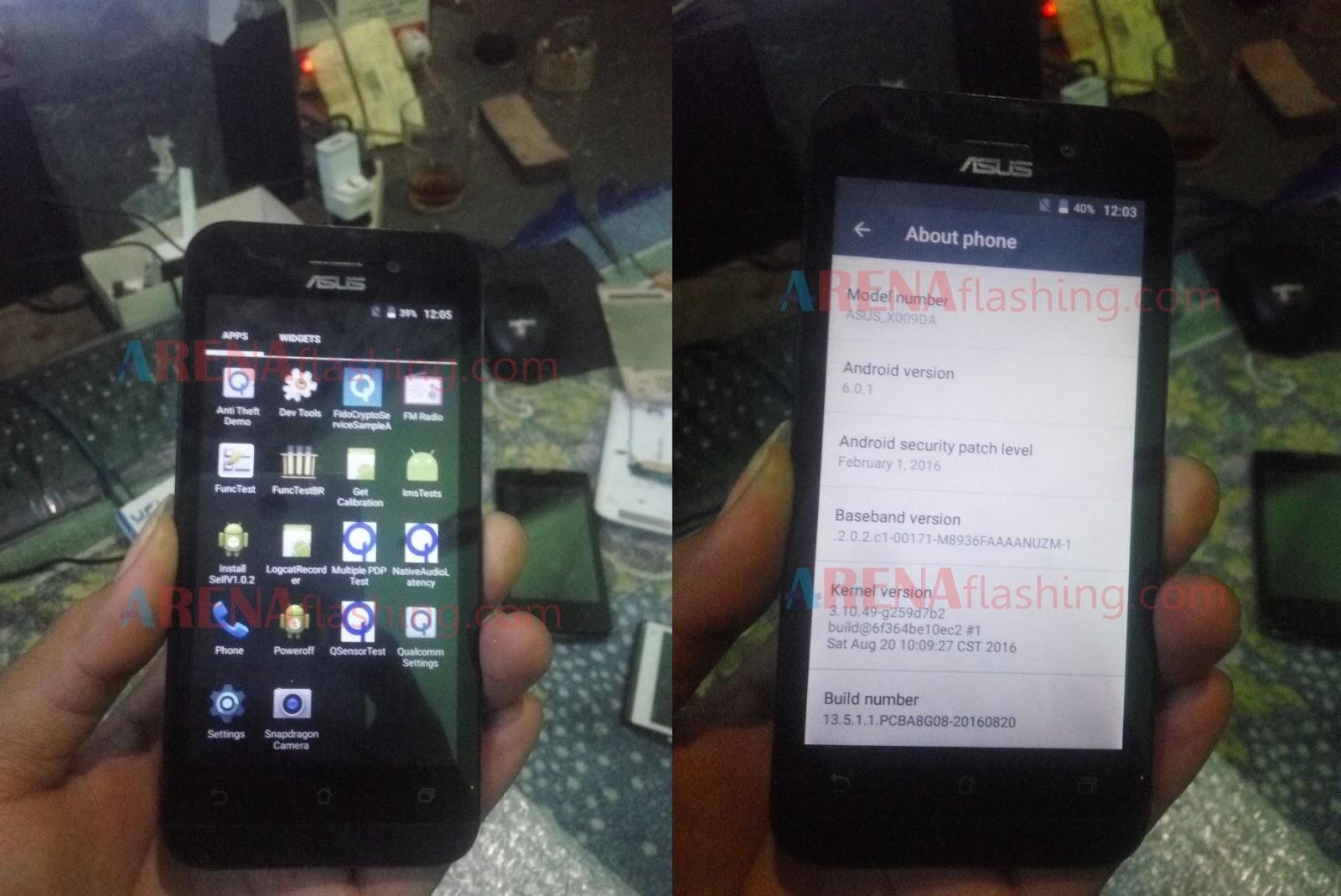 Cara Flash Asus Zenfone Go 4g X009da Zb450kl Via Pc