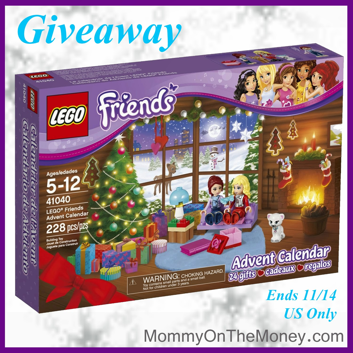 calendar sweepstakes lego friends advent calendar giveaway 618