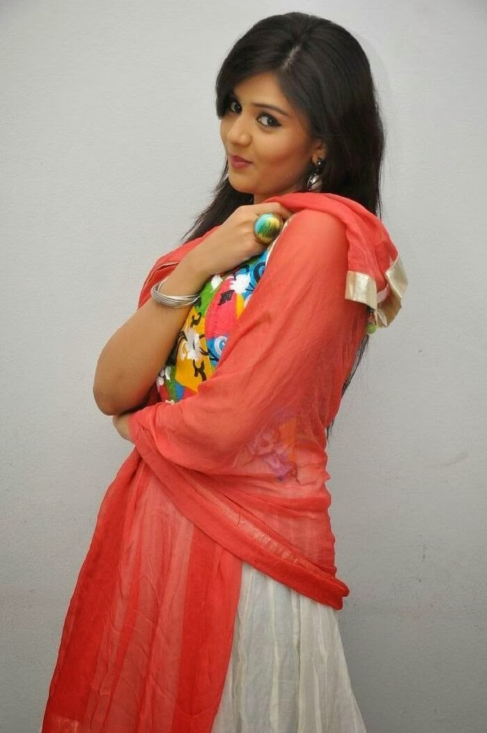 Sree mukhi photos in salwar kameez at prema ishq kadhal audio success meet function