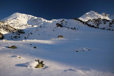 Randonnée raquettes neige Néouvielle Aygues Cluses