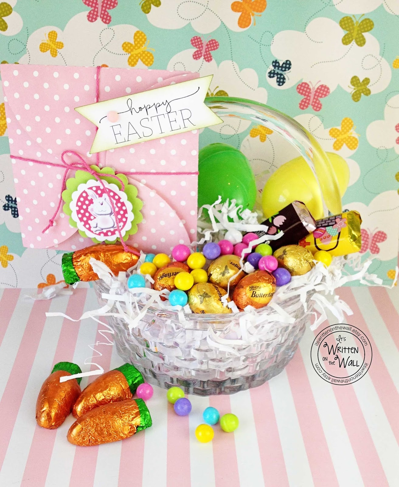 Its written on the wall wrap up a gift card for easter baskets in its written on the wall wrap up a gift card for easter baskets in these cute gift card holders boys girls negle Choice Image