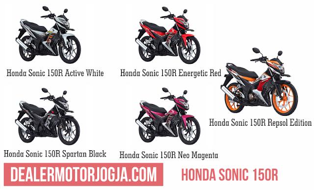 Promo Akhir Tahun Cash - Kredit New Honda Sonic 150R  Desember 2016 Jogja