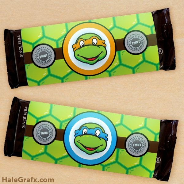 Teenage Mutant Ninja Turtle Wrappers