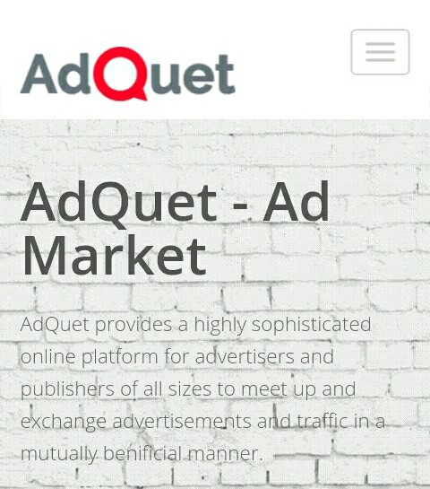 Top 5 best ad network for bloggers in Nigeria, Adquet