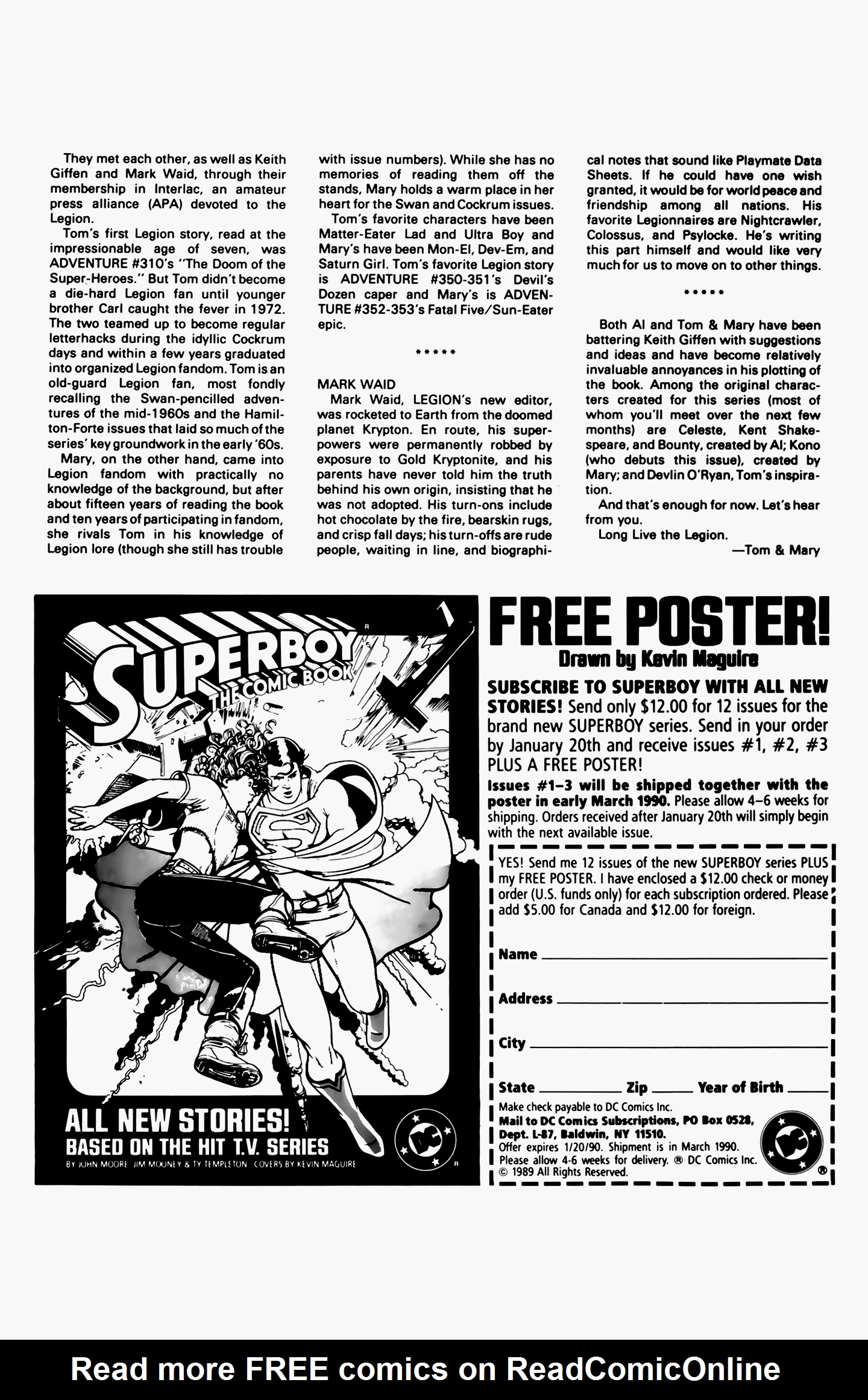 Legion of Super-Heroes (1989) 3 Page 27