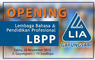 Loker Surabaya Terbaru di LBPP LIA Gayungsari Jawa Timur Terbaru Juni 2016