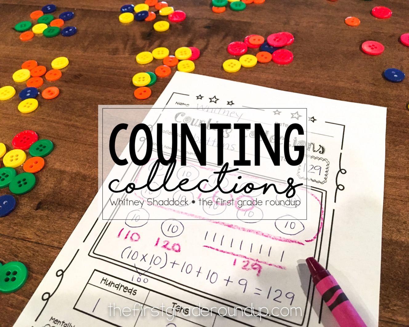 Math Junkie: Counting Collections - Firstgraderoundup [ 1063 x 1329 Pixel ]