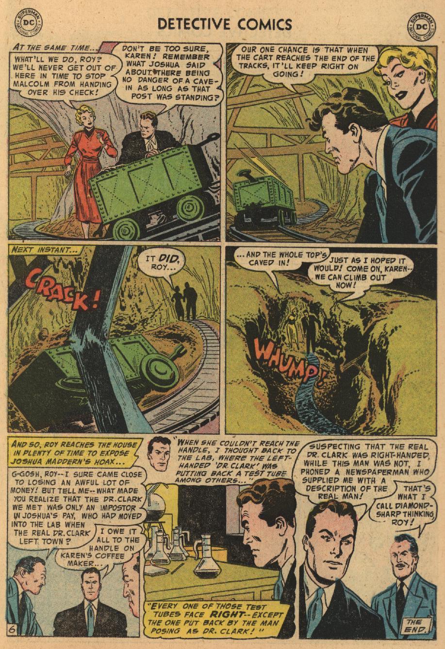 Read online Detective Comics (1937) comic -  Issue #229 - 22