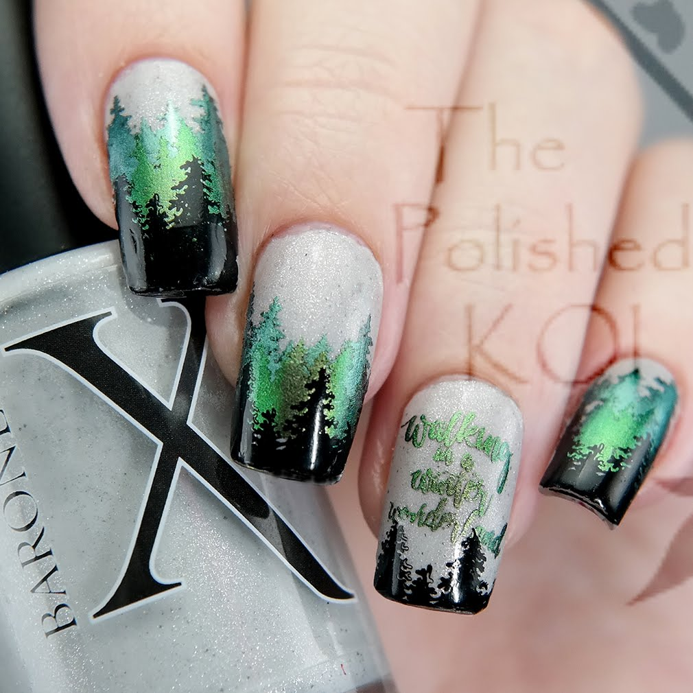 The Polished KOI: Swatch & Art: Baroness X - Winter is Coming