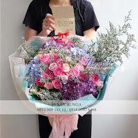 hand bouquet, jual hand bouquet, hand bouquet ucapan anniversary,