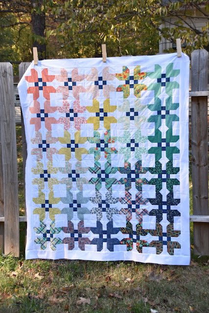 Fat Eighth Fruitcake Quilt with Fat Quarter Shop