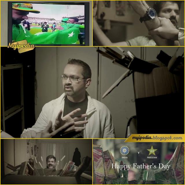 Faisal Qureshi - Mauka Mauka Reply Pak Vs India Cricket Match Parody (Happy Fathers Day 2017)