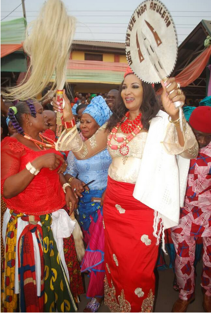 Bianca-Ojukwu-bags-Chieftaincy-title-in-Aguleri