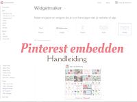 Handleiding: een Pinterest-pin, -bord of -profiel embedden