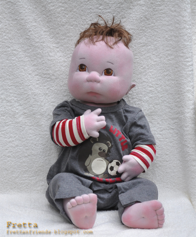 Fretta 56 Cm 22 Quot Tall Life Size Soft Sculptured Baby