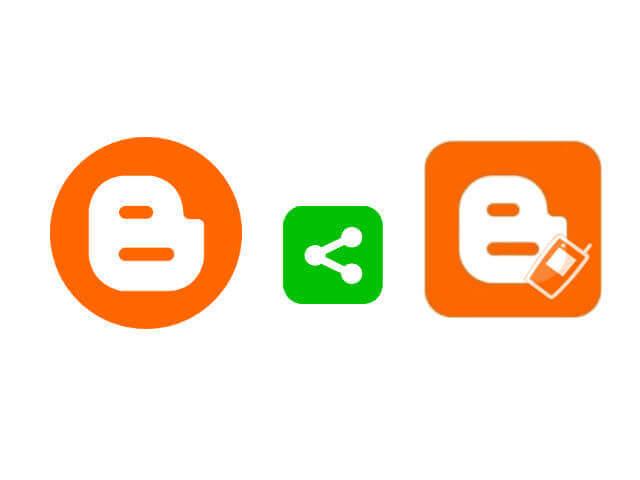 Blogger 電腦版行動版文章中安裝社群分享按鈕_001