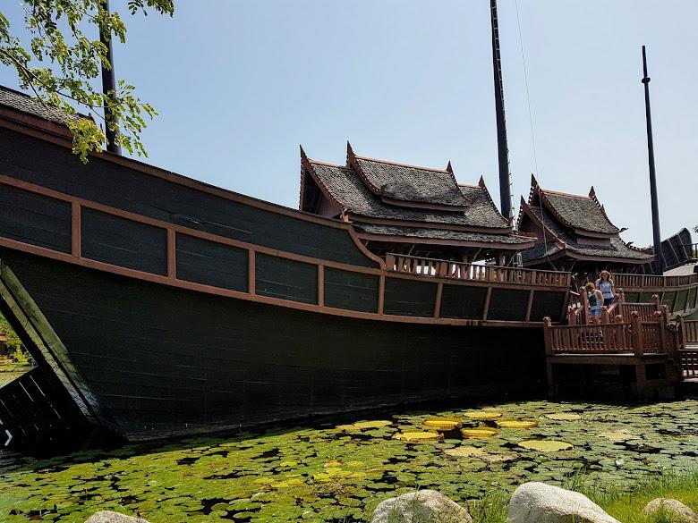 Thai Junk,巨大的船
