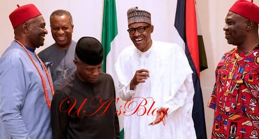 Details of Buhari's meeting with Southeast govs, Ekweremadu emerge