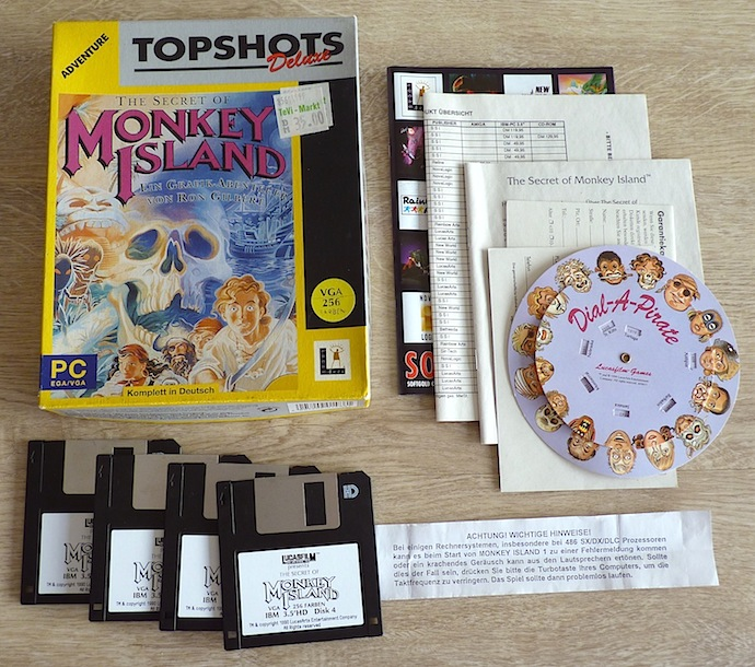 The Secret of Monkey Island Topshots Deluxe PC