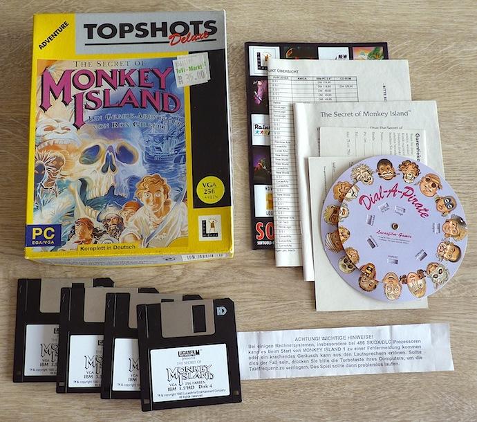 The Secret of Monkey Island Topshots Deluxe PC