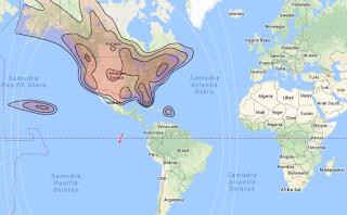 Satellite Beam Coverage Galaxy 16/G-16 99.0°W KU Band