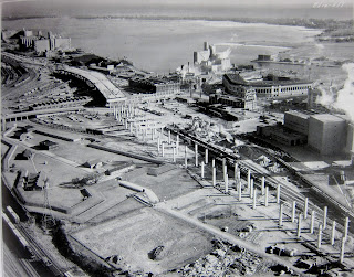 Gardiner Expressway construction