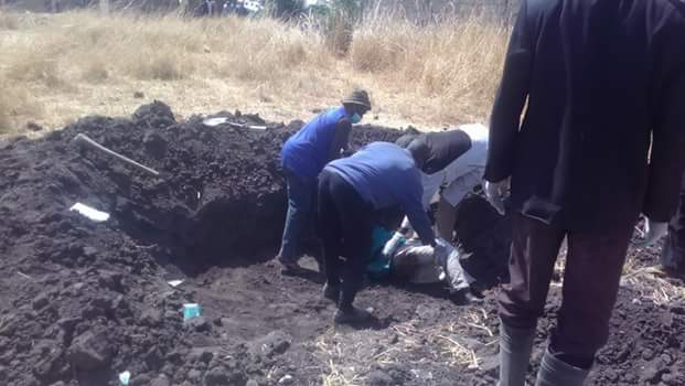 Photos: 25 bodies of those killed by Fulani herdsmen recovered and given mass burial in Taraba State