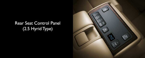 interior new toyota camry hybrid