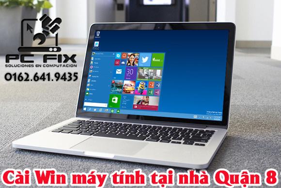 Cài Win Laptop Tại Nhà Quận 8 TPHCM