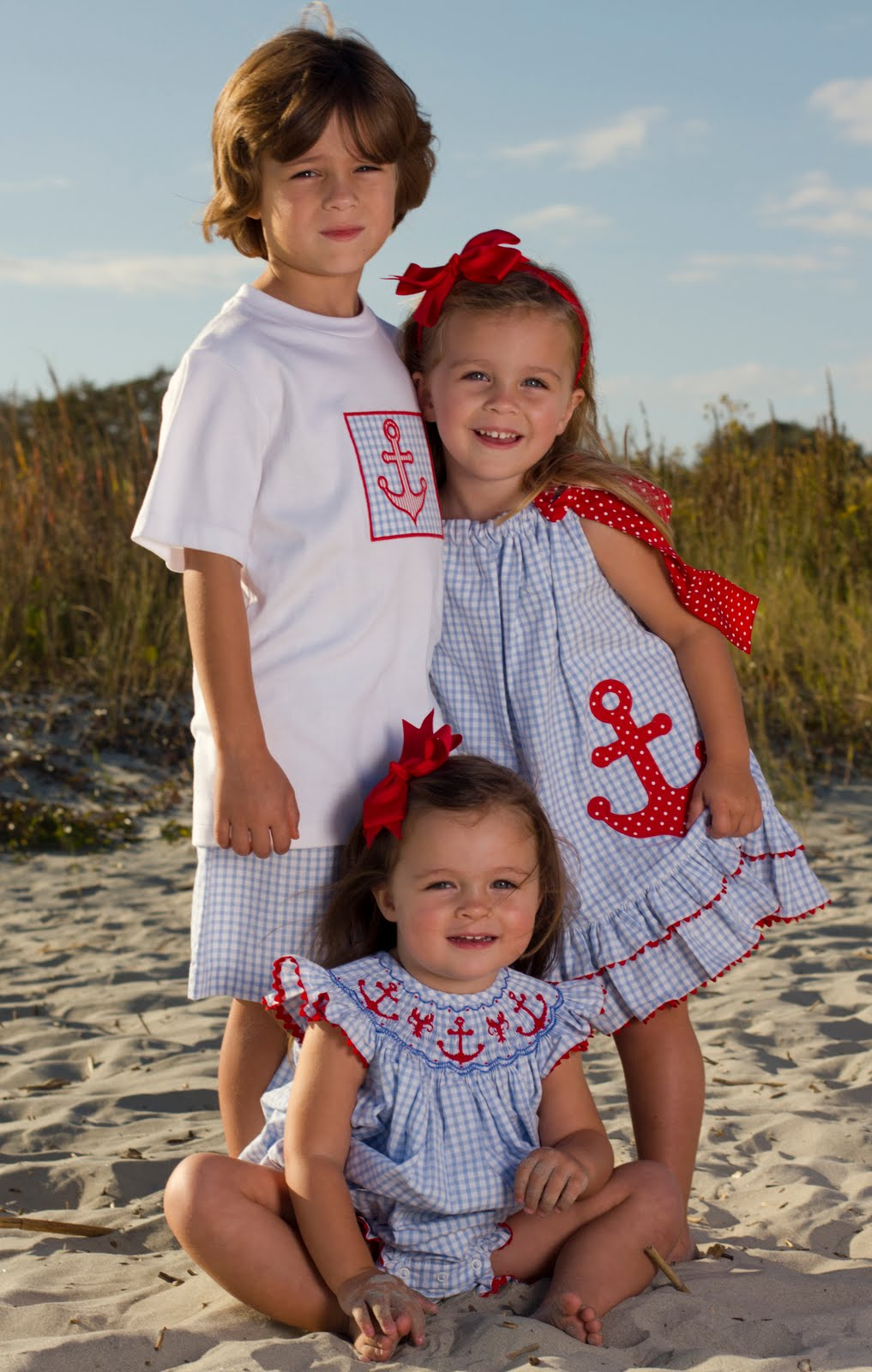6a562baf269d9 smocked children's clothing: Hellooooo 4th of July!