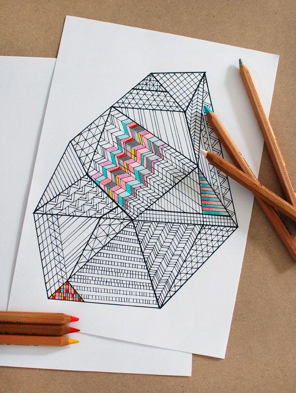 Zentangle Arterapia A Traves Del Dibujo Jugar Con La Creatividad