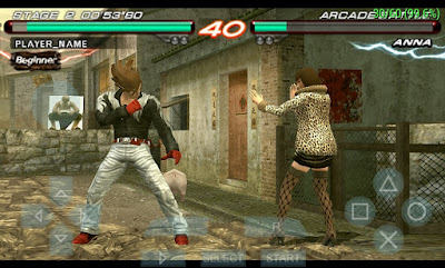 Download Tekken 7 PPSSPP Android ISO + Save Data Ukuran Kecil Update Terbaru