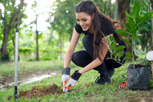 Miss Earth Thailand 2017-Miss Earth 2017-Miss Earth-Tree Planting-Miss Thailand 2017