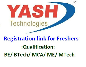 Yash Technology Off Campus for Freshers