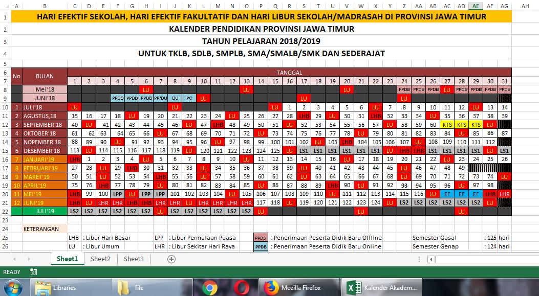 Download Kalender Pendidikan 2019 Pdf