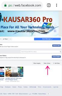 কিভাবে Facebook Page Video মধ্যে Custom thumbnail Add করবেন?
