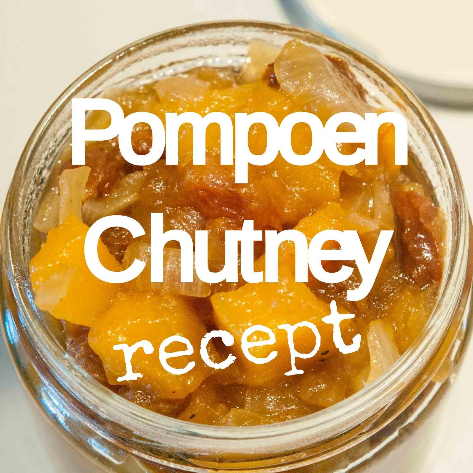 pompoenchutney recept herfst
