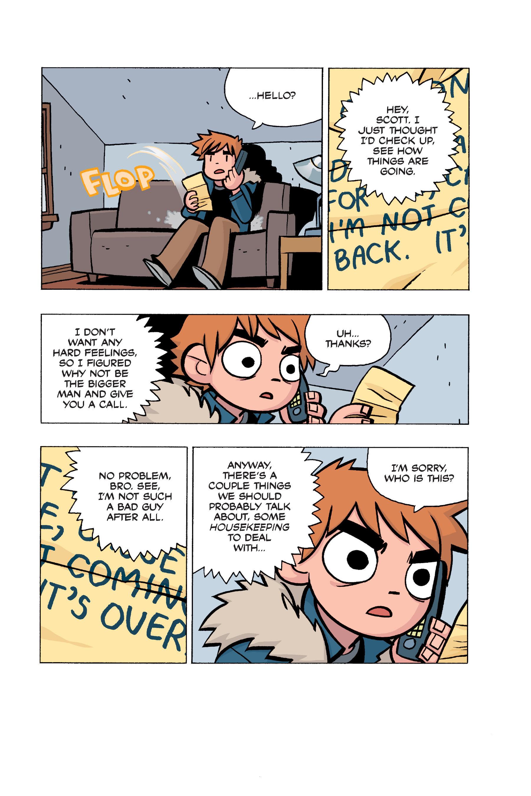 Read online Scott Pilgrim comic -  Issue #5 - 173