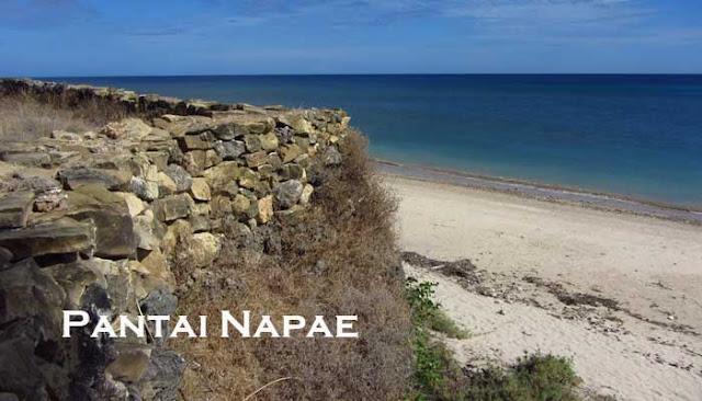 Pantai Napae Pantai Terindah Di Sabu Raijua, NTT