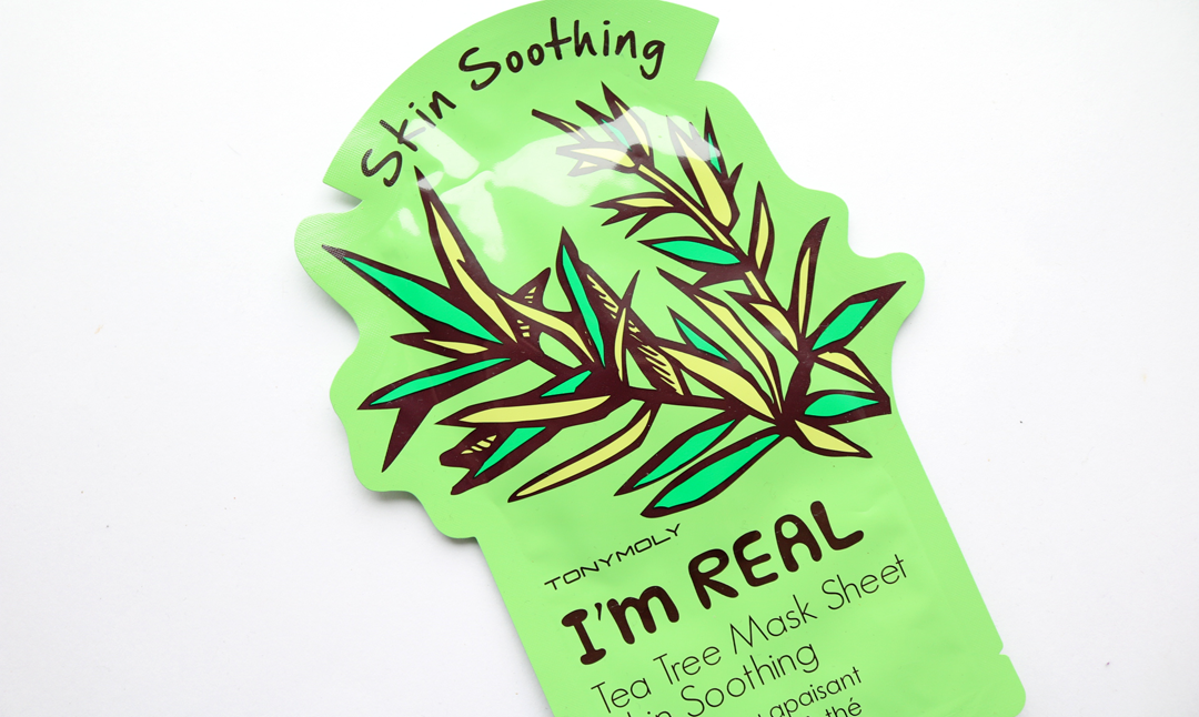 Tony Moly I'm Real Tea Tree Soothing Sheet Mask